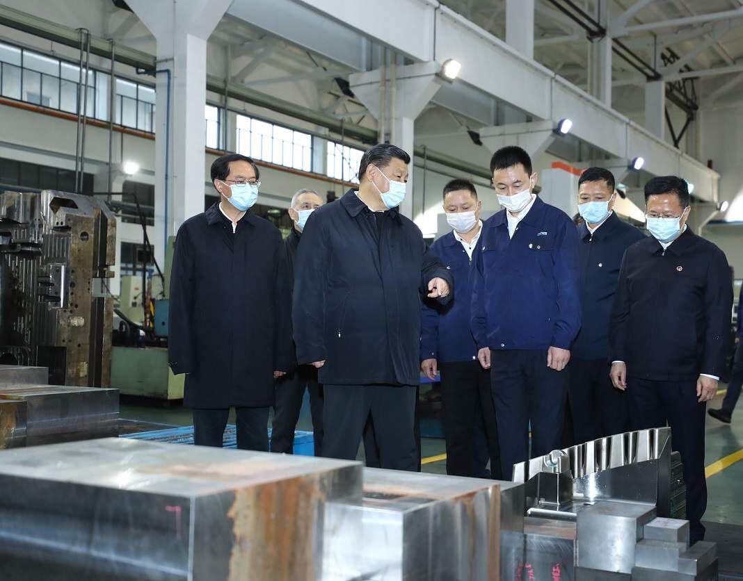 Xi stresses coordinating epidemic control, economic work, achieving development goals