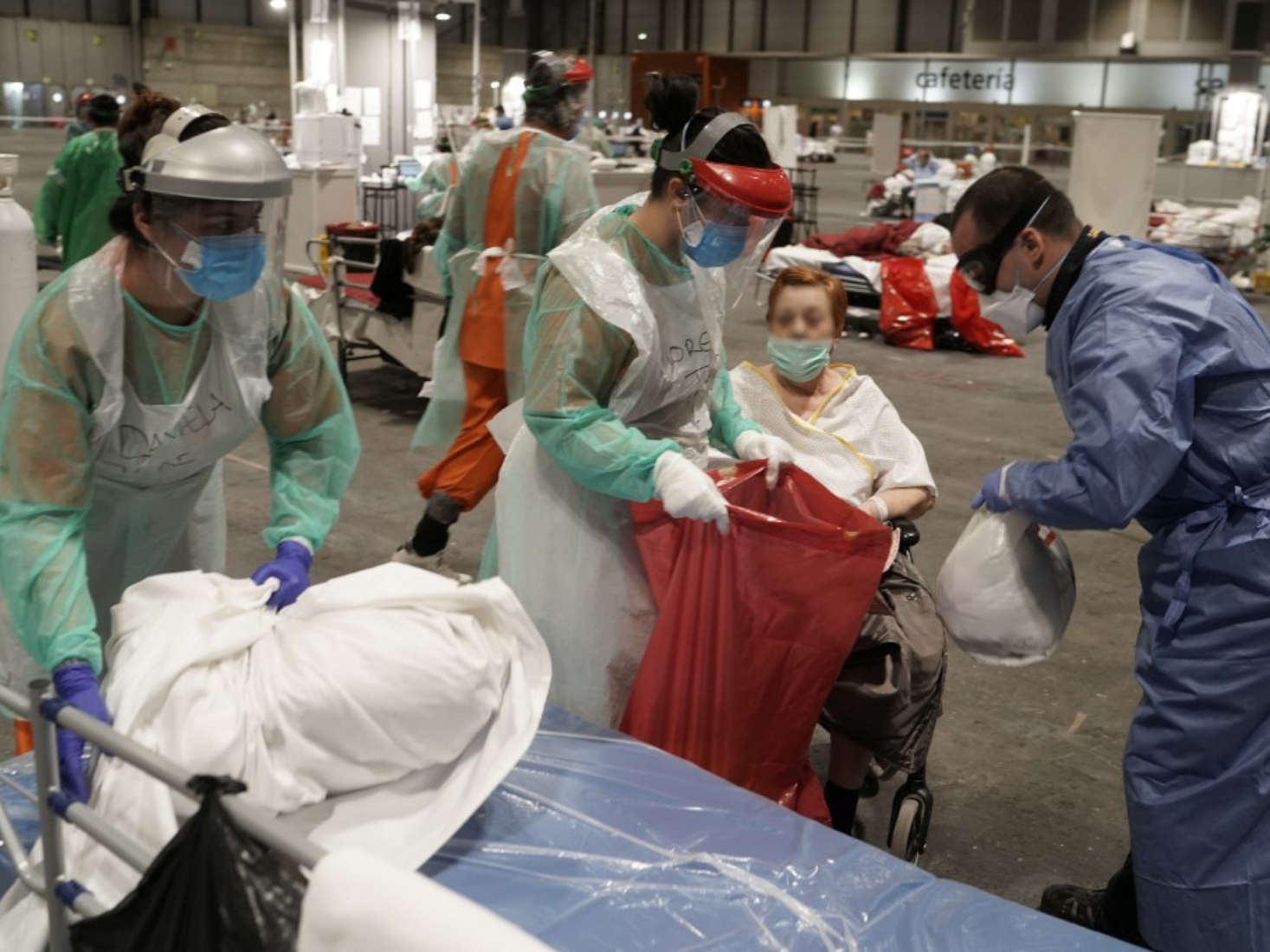 Spain's COVID-19 cases top 100,000