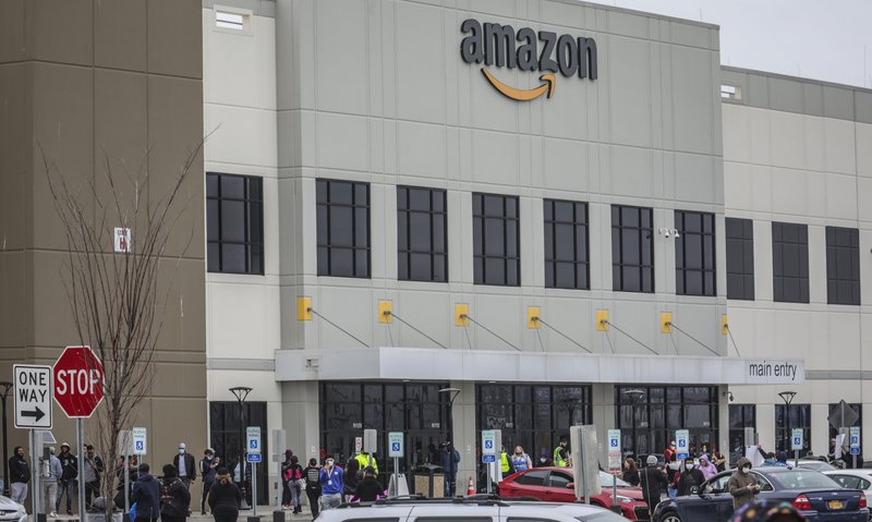 Amazon fires warehouse worker who staged walkout