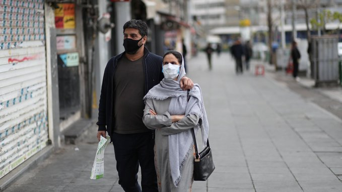 Iran's COVID-19 cases pass 50,000