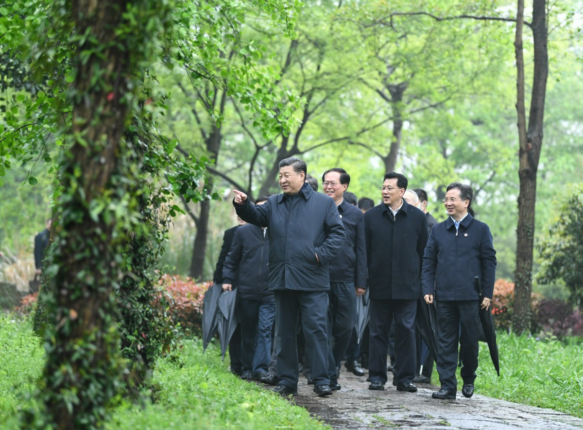 Xi stresses ecological protection, cultural inheritance in Hangzhou