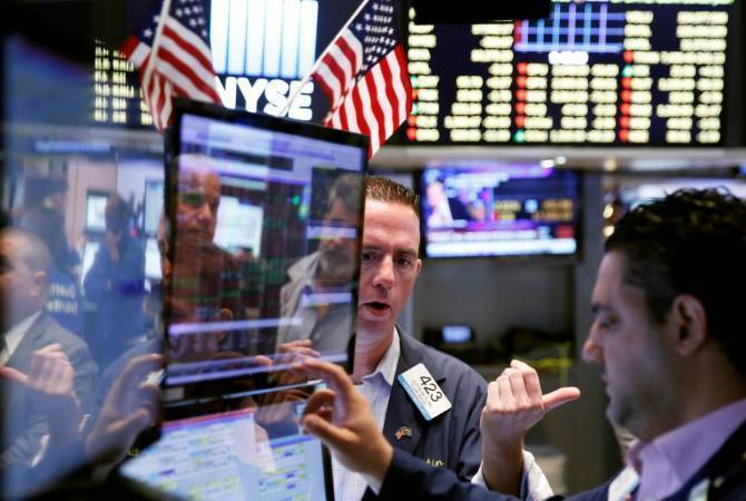 US stocks volatile after massive jump in jobless claims