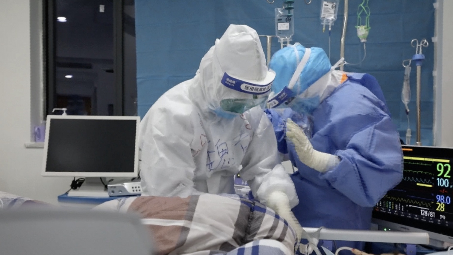 Feature: Chinese experts share COVID-19 treating experience with Israeli doctors