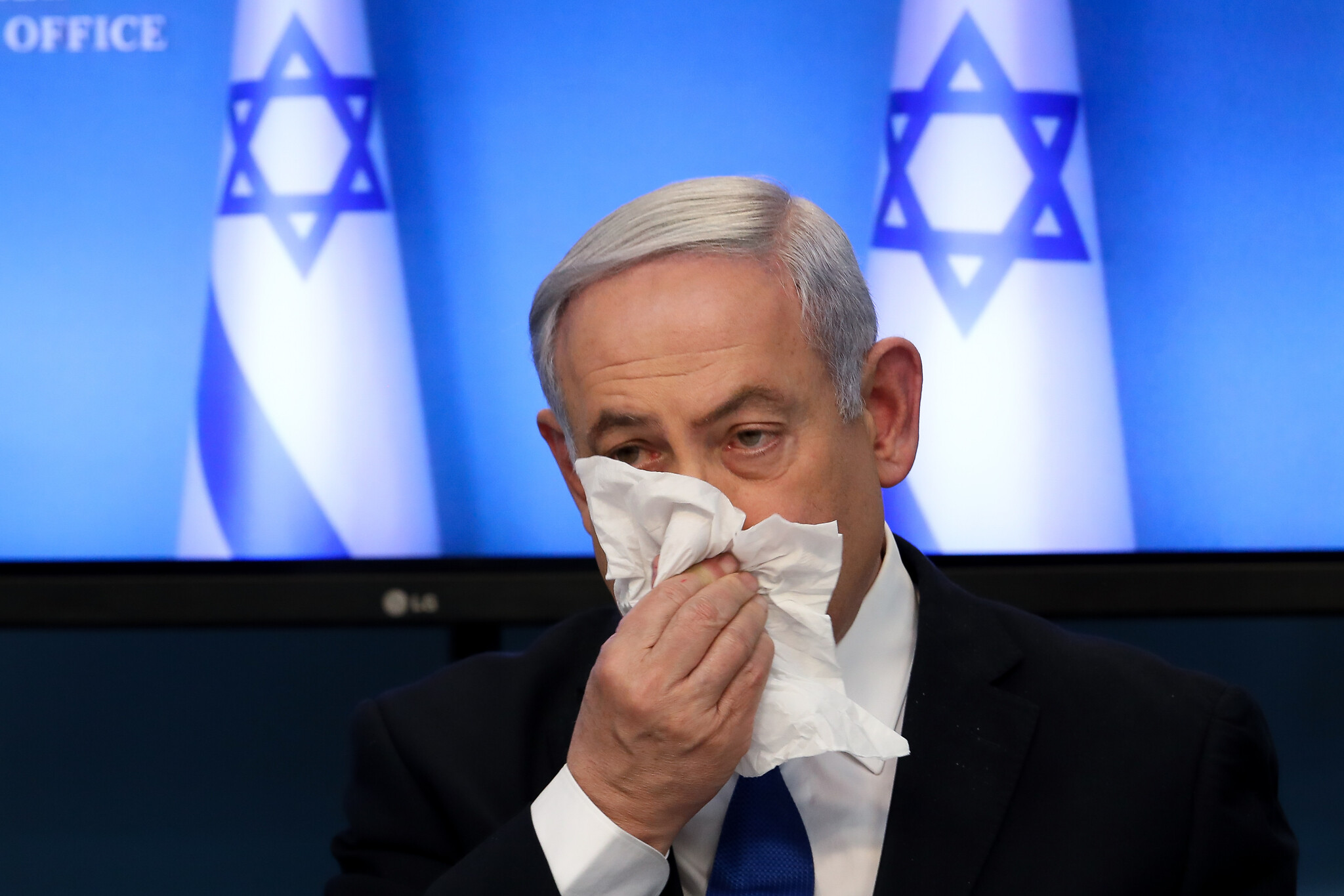 Netanyahu quarantined for 2nd time after health minister's infection with coronavirus