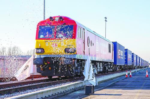 China-Europe freight trains see growth in east China despite COVID-19
