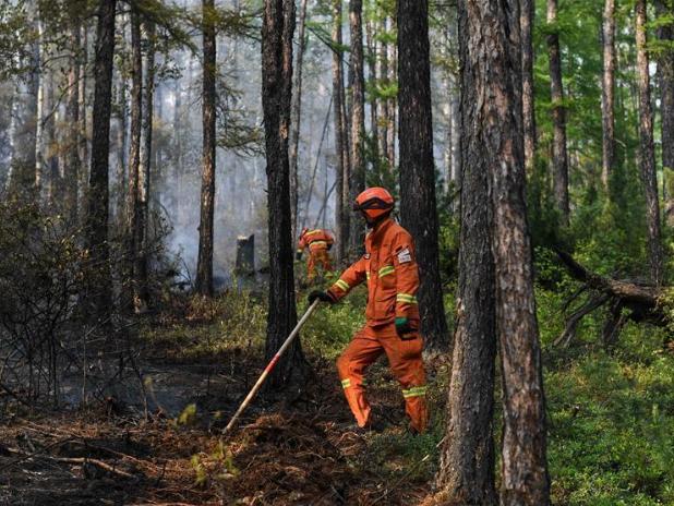 Red alert raises risk for forest fires