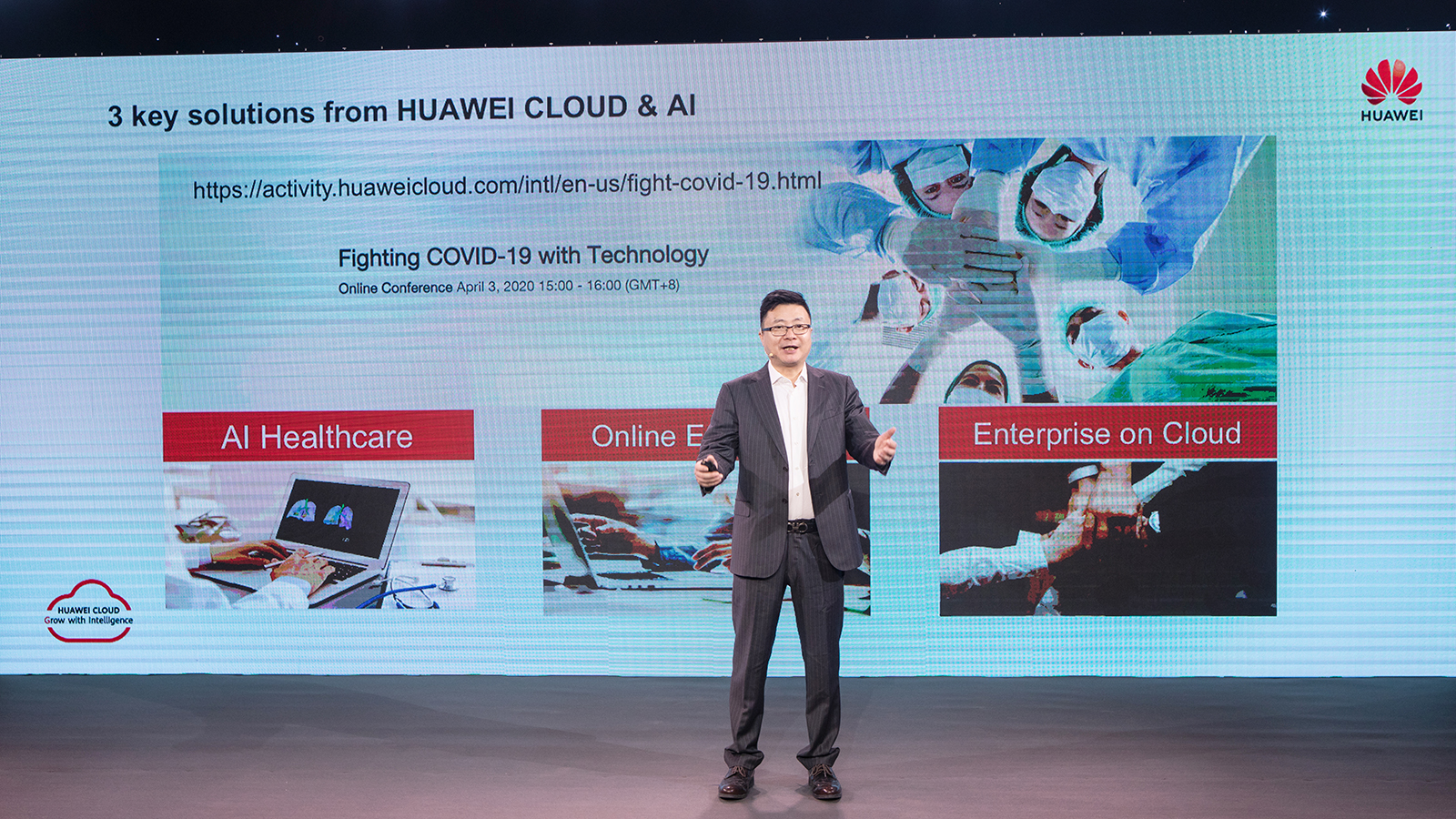 Huawei uses cloud and AI services to help curb COVID-19