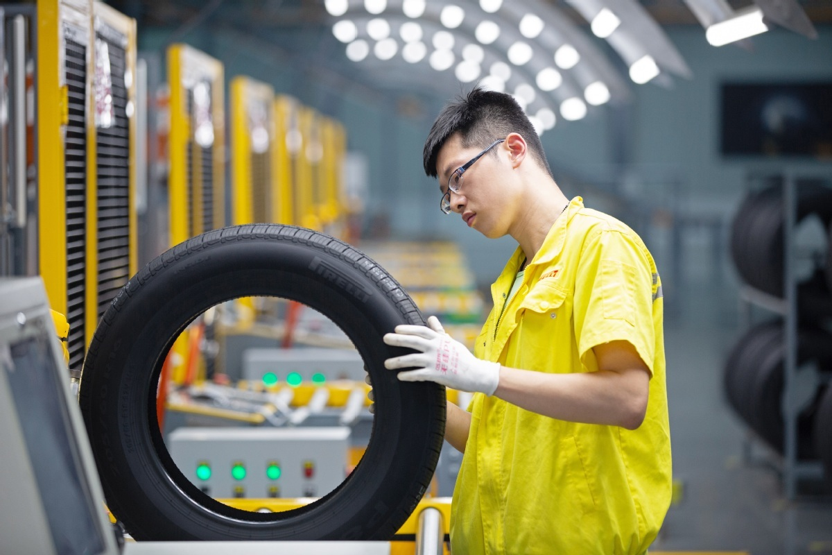 Pirelli rolls out latest tire product in China