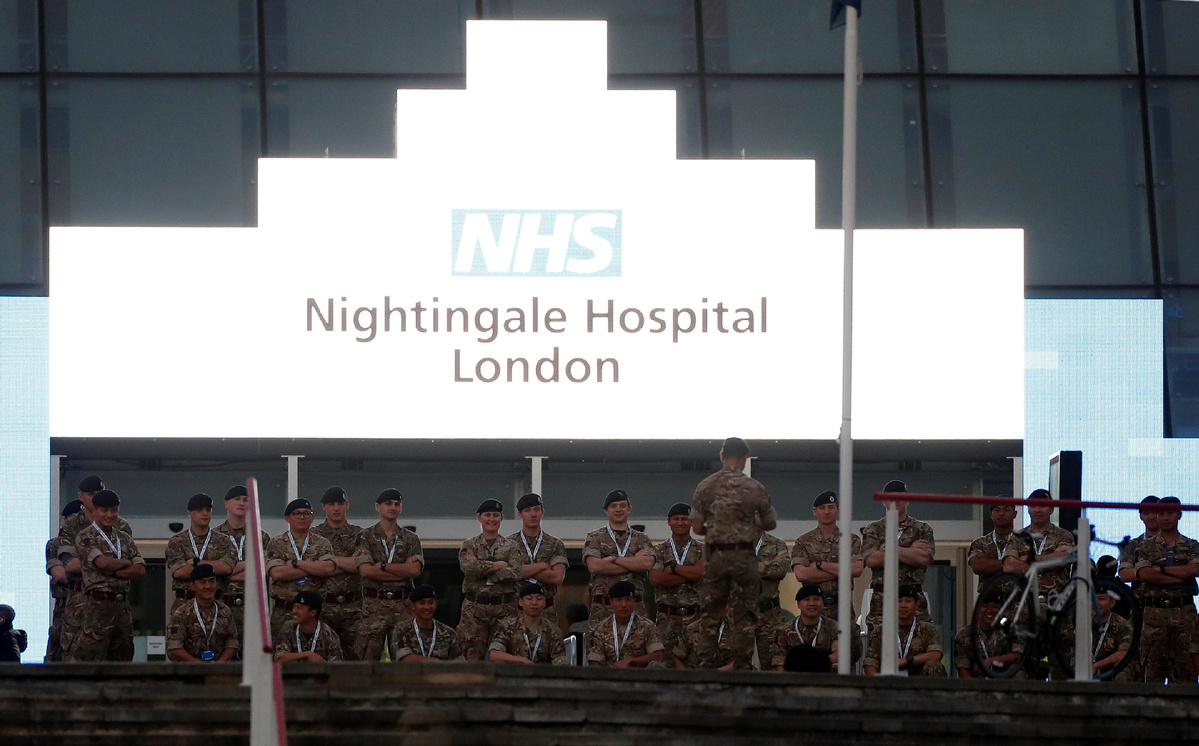 Britain's coronavirus peak will be in next few weeks, health minister says