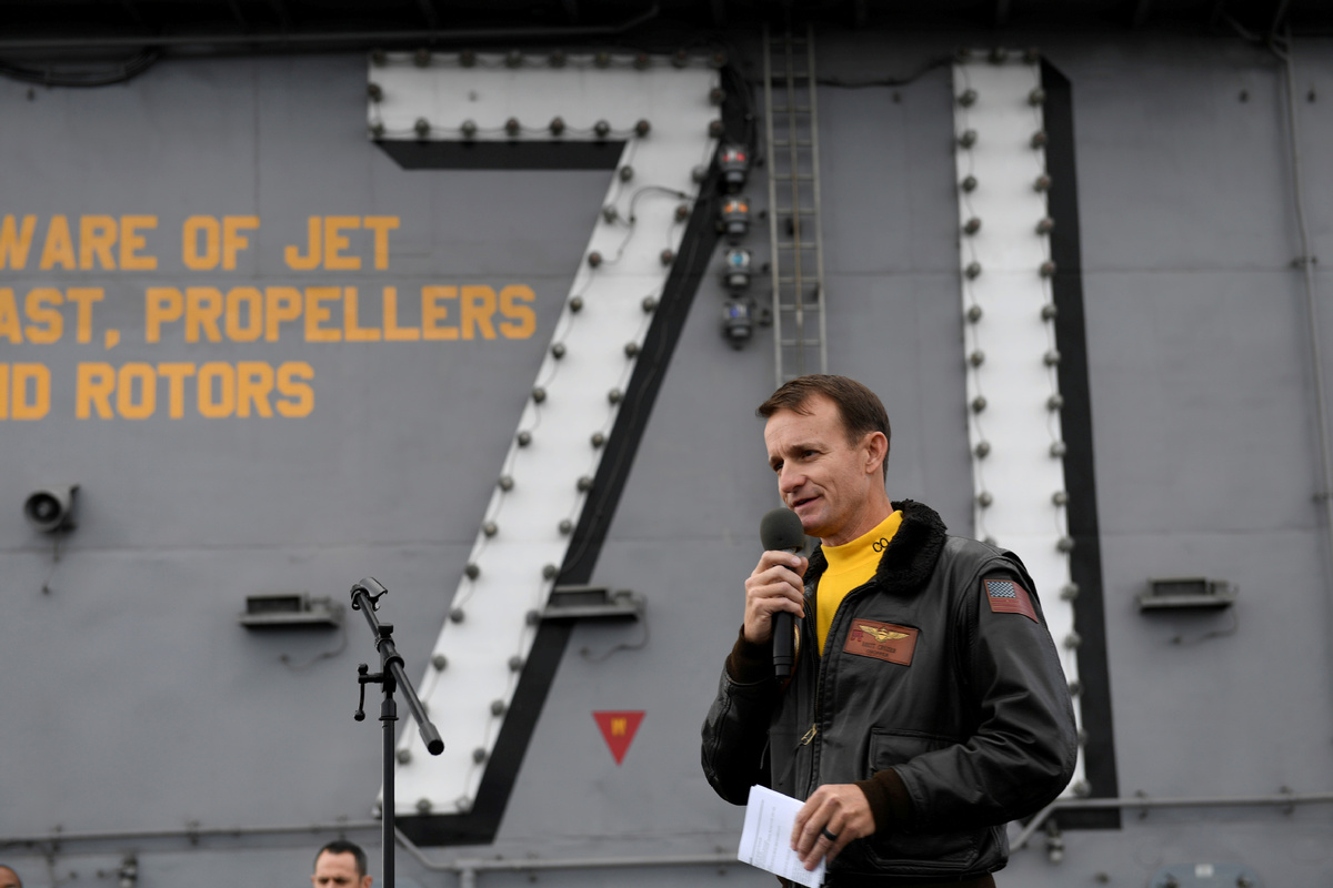 US Navy removes captain of coronavirus-stricken aircraft carrier