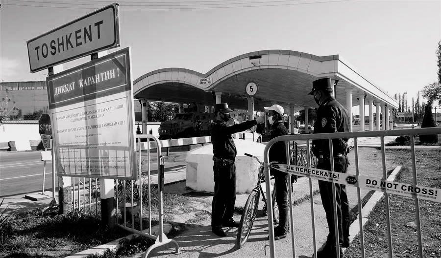 Uzbekistan locks down major cities