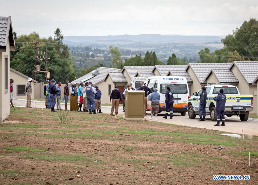 People arrested for violating lockdown regulations over COVID-19 in S. Africa