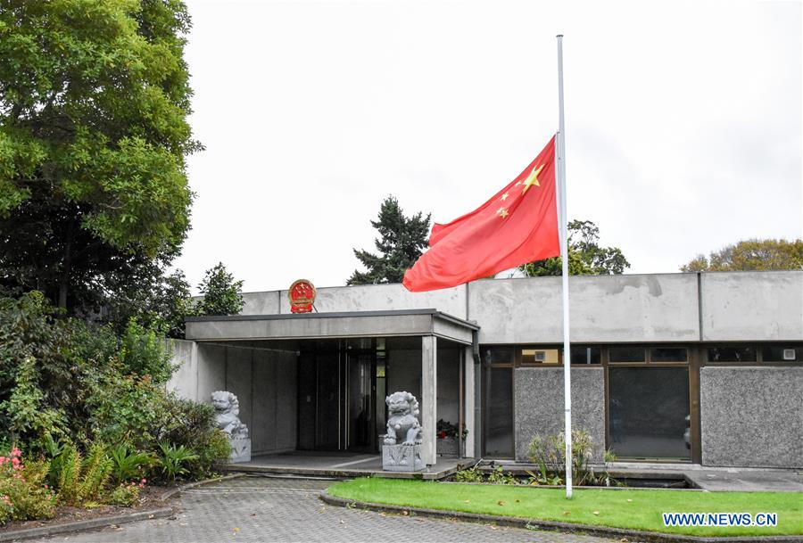 Chinese embassies and consulates abroad mourn COVID-19 victims