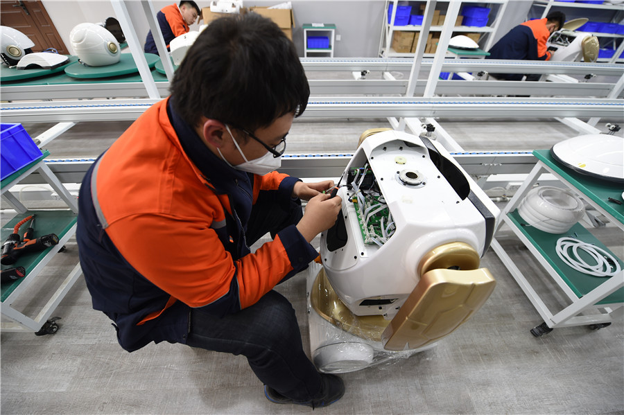China supports development of new technologies in recovering from epidemic