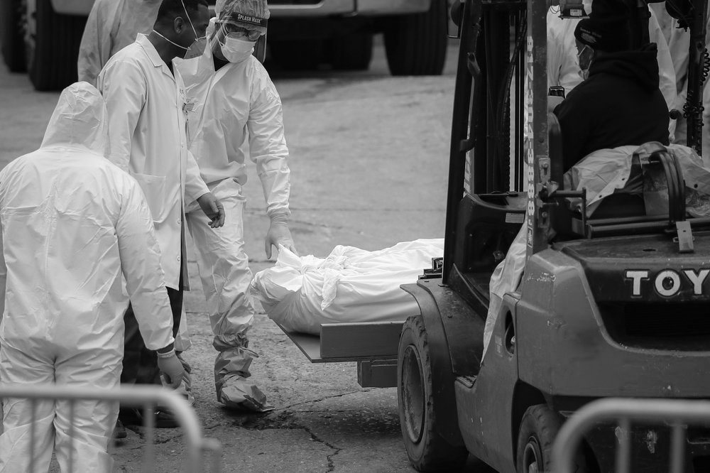 Where will the bodies go? Morgues plan as virus grows