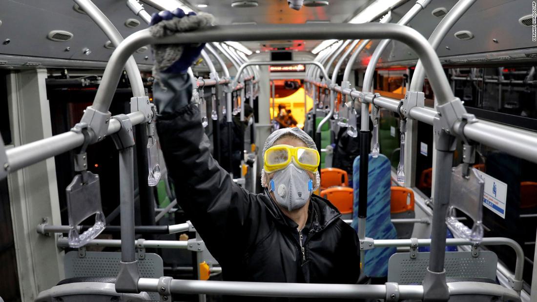 Iran says to gradually ease anti-coronavirus restrictions