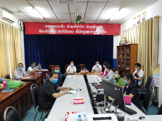 Chinese experts join Lao counterparts to fight COVID-19 epidemic