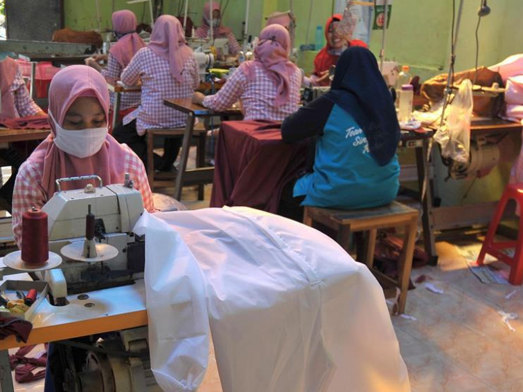 People's daily life in Yogyakarta, Indonesia