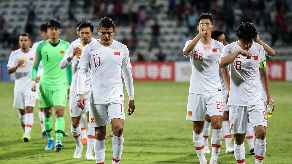 China's men's football team ends quarantine after all re-testing negative for COVID-19
