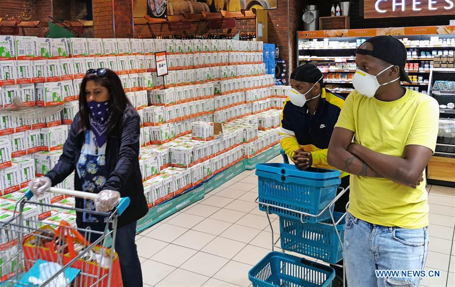 South Africa's COVID-19 cases rise to 1,655