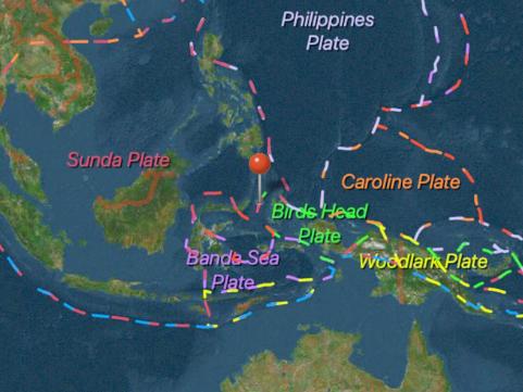 5.9-magnitude quake hits 123 km NW of Kota Ternate, Indonesia: USGS
