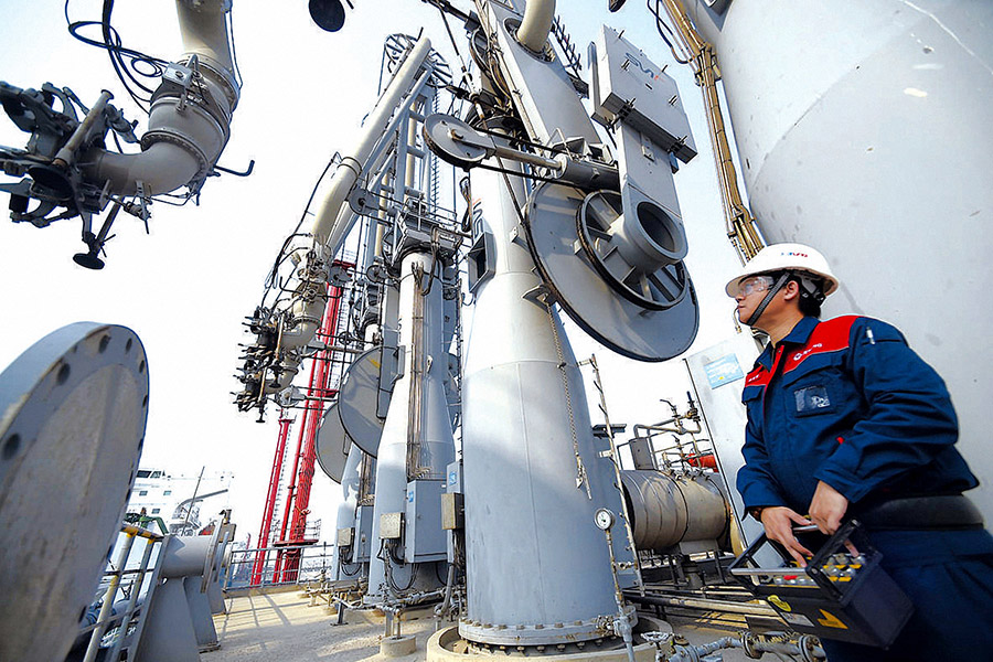China's natural gas apparent consumption inches up in Jan.-Feb.