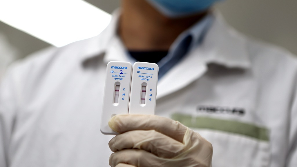 US doctor with 'flu' in Jan tests positive for COVID-19 antibody