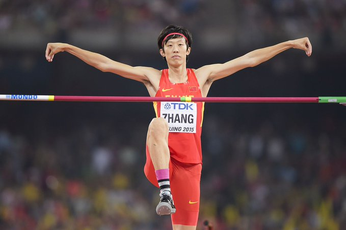 Chinese high jumper Zhang announces retirement on social media