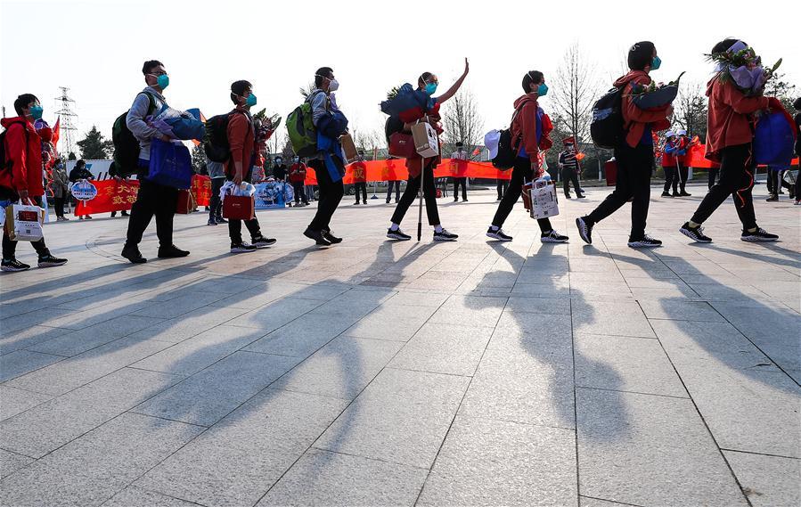China's Hubei reports zero increase in COVID-19 cases