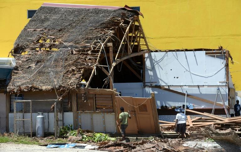 Monster storm strengthens in Pacific, lashing Vanuatu