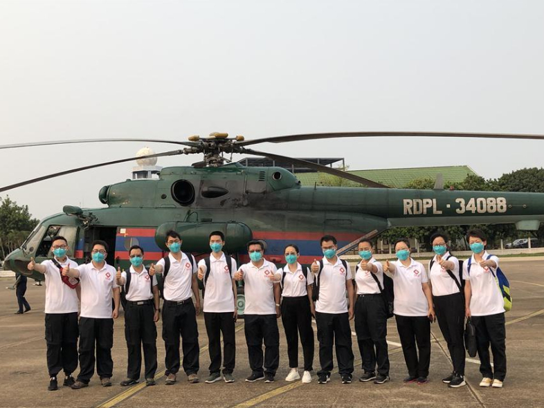 Chinese experts in Laos to assist in COVID-19 fight