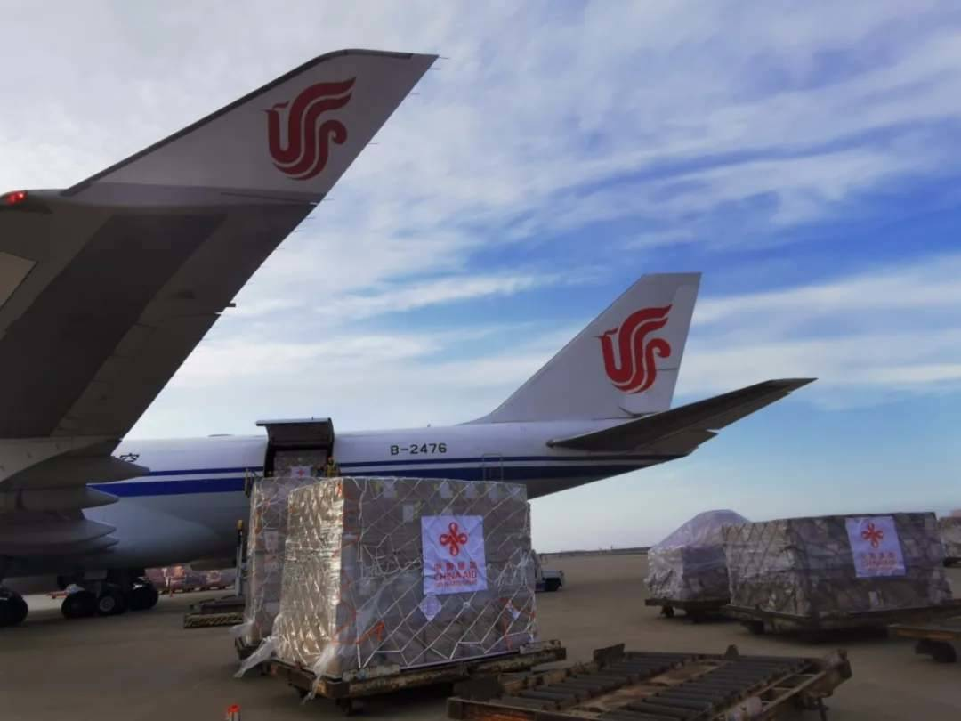China sends medical supplies to Central and West Africa