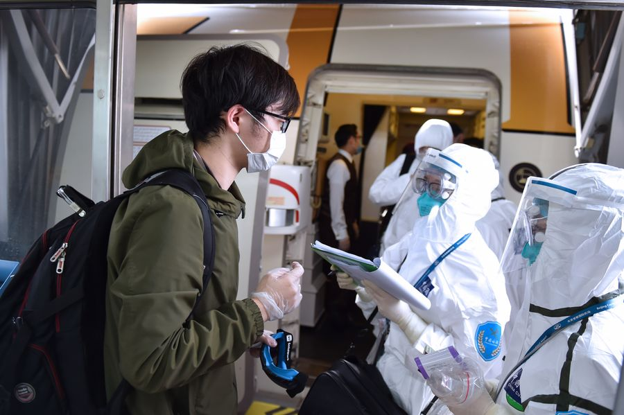 Chinese mainland reports 59 new imported COVID-19 cases