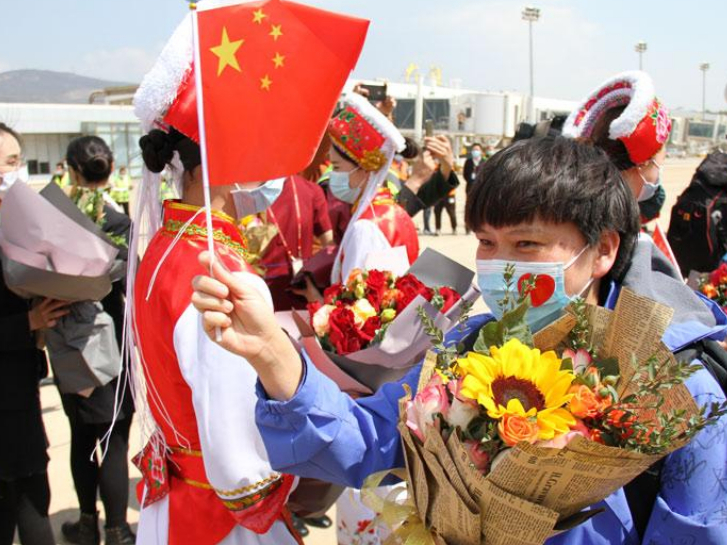 Yunnan welcomes returning medical teams with highest honors