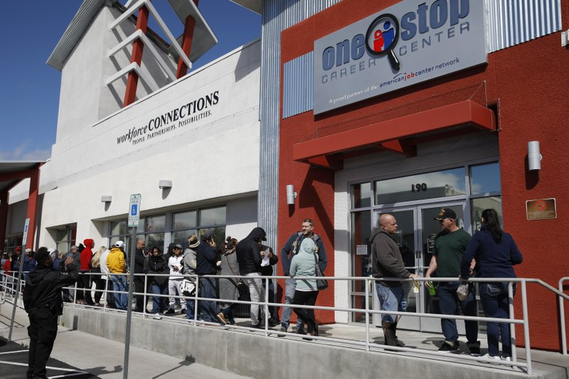 Another 6.6 mn US workers file for unemployment benefits last week