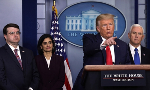 Washington makes WHO a new scapegoat