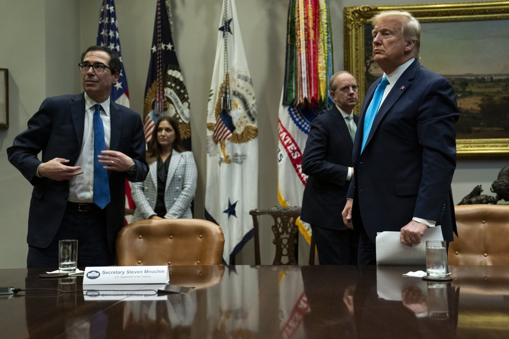 Mnuchin says direct deposits out next week for virus aid