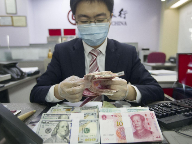 Chinese yuan weakens to 7.0536 against USD Thursday