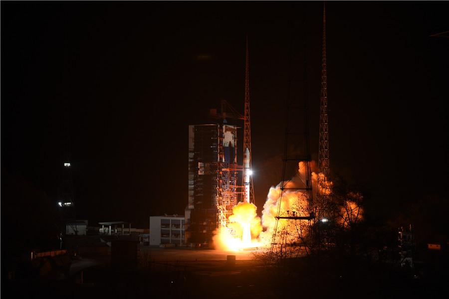 Satellite lost as rocket launch fails