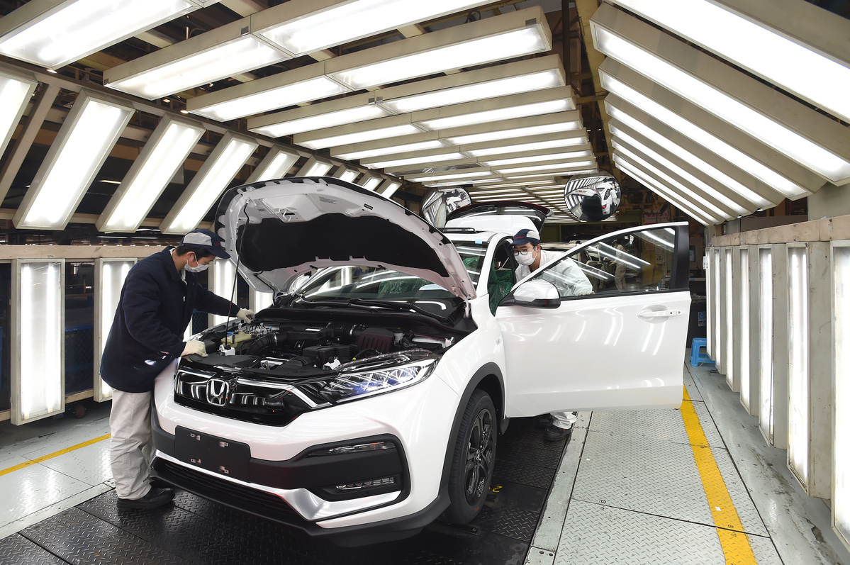 Automobile industry back on healthy track