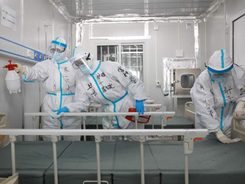 Wuhan's Leishenshan Hospital shuts down last general ward area