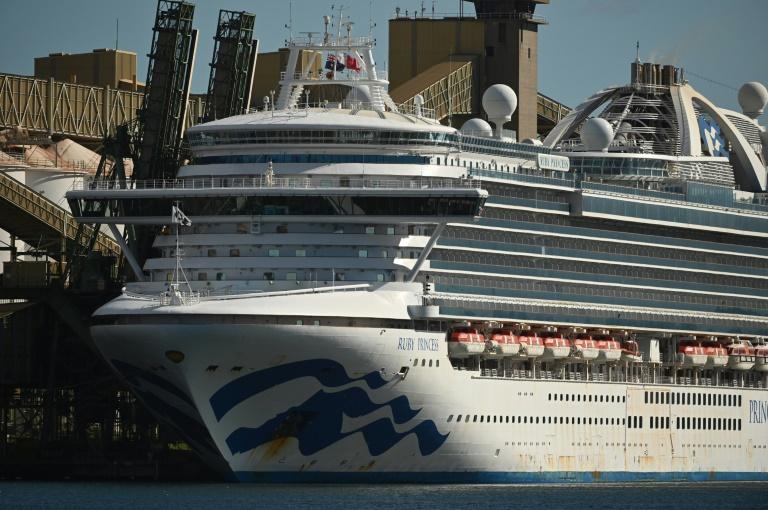 Australian police seize black box in raid on virus-hit cruise ship