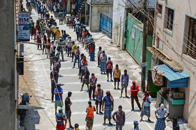 India's poor hit hardest by virus lockdown