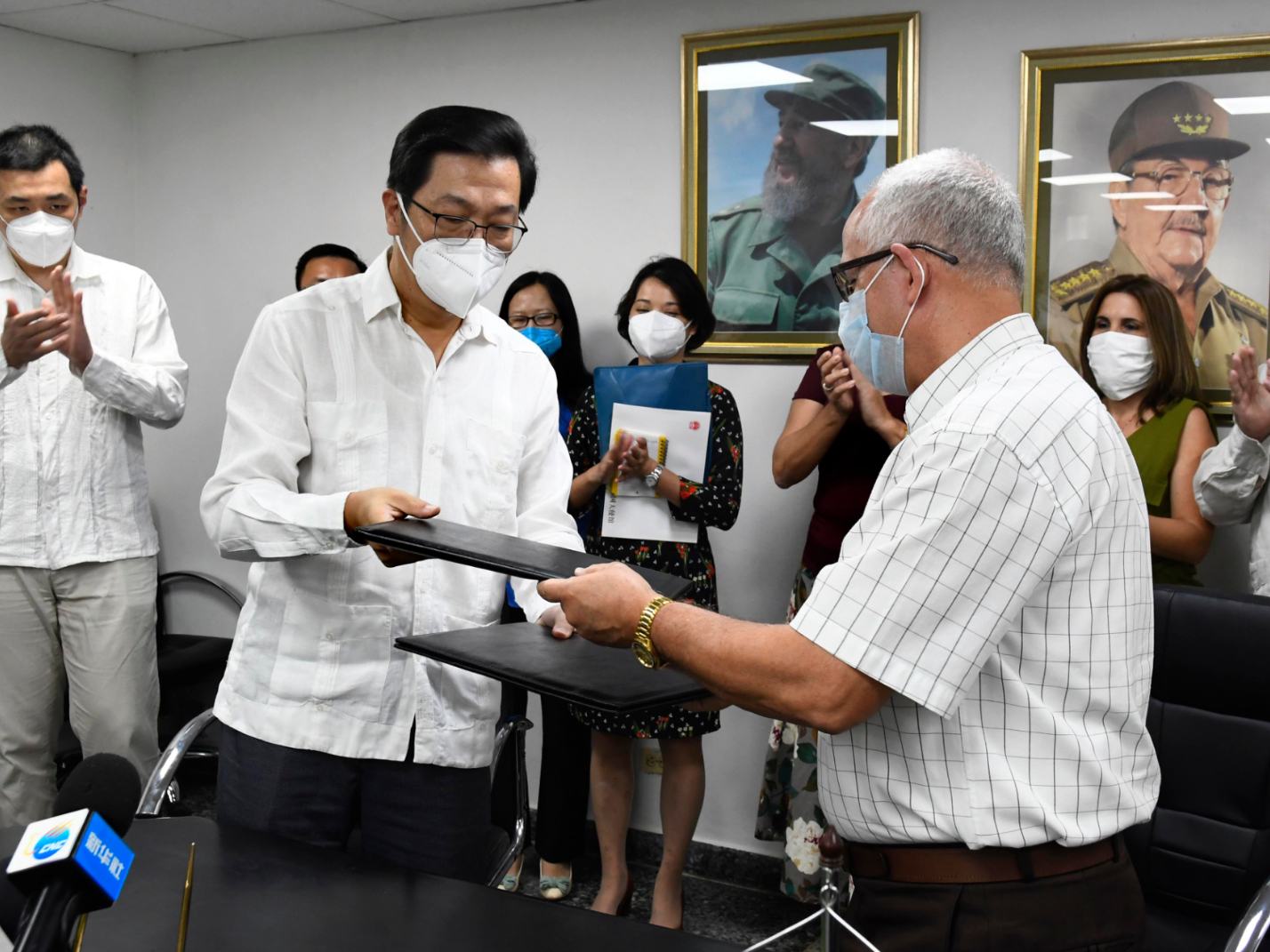 Cuba starts to distribute Chinese medical supplies amid virus outbreak