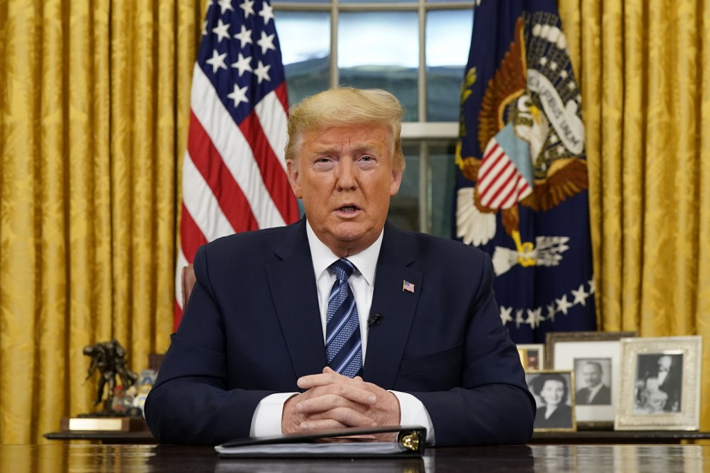 Trump says to expedite help to American farmers hurt by COVID-19 pandemic