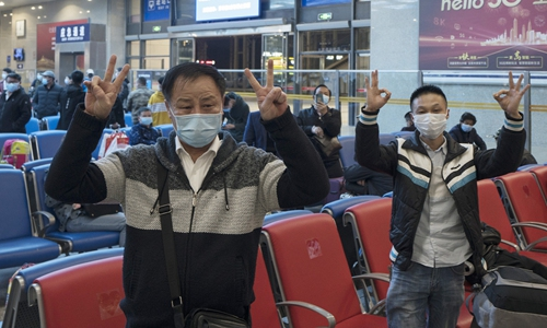 Return from Wuhan with care