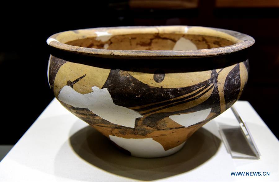 Yangshao Culture Museum displays prehistoric culture exhibits