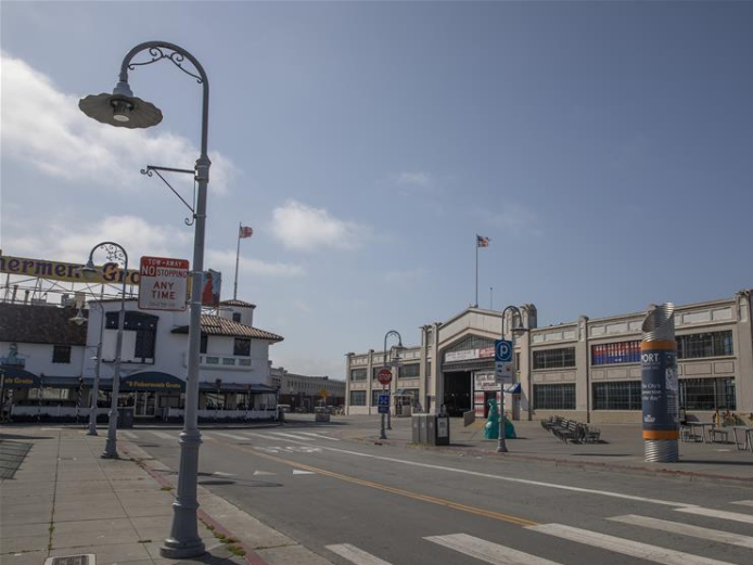 View of Fisherman's Wharf amid COVID-19 outbreak in San Francisco