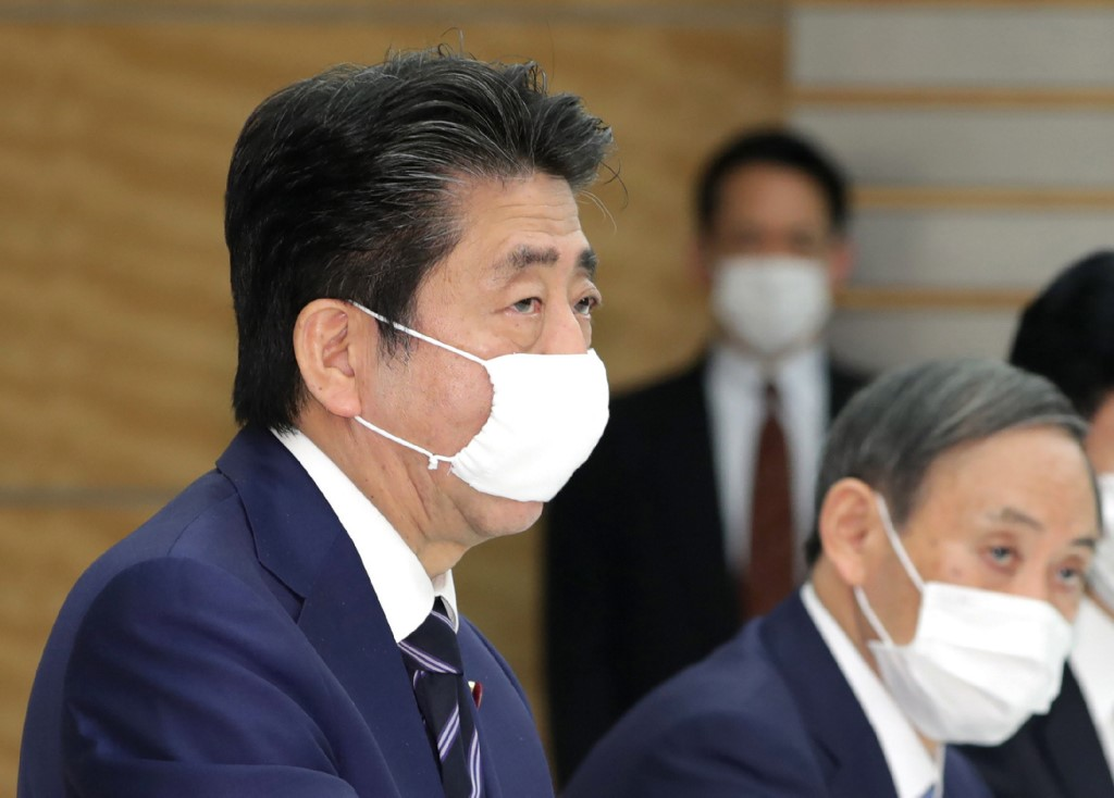 Japan's Abe draws flak from netizens over stay-at-home Twitter video