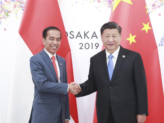 Chinese, Indonesian leaders exchange congratulations on 70th anniversary of diplomatic ties